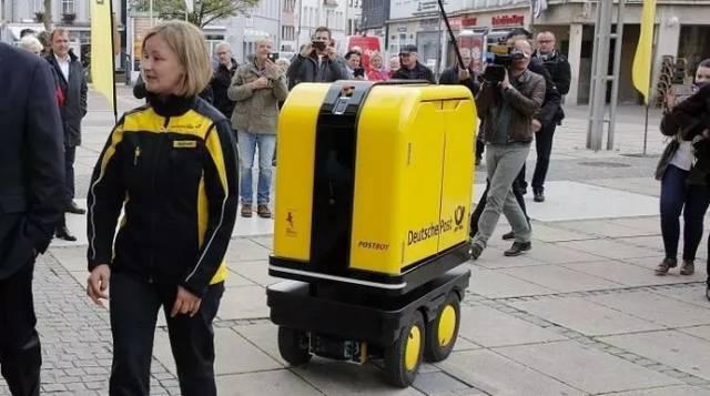 德国邮政投递机器人试用成功 或将在全德投放使用