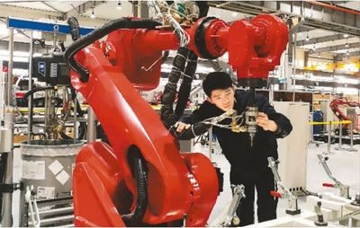 """""""机器人+""""引领宁夏智能制造"""