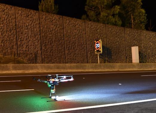 澳洲电讯利用无人机抓拍EastLink隧道激光雷达地图