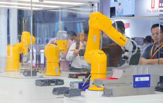 """东莞优质机器人企业成创投市场""""宠儿"""" 借力资本市场做强做大"""