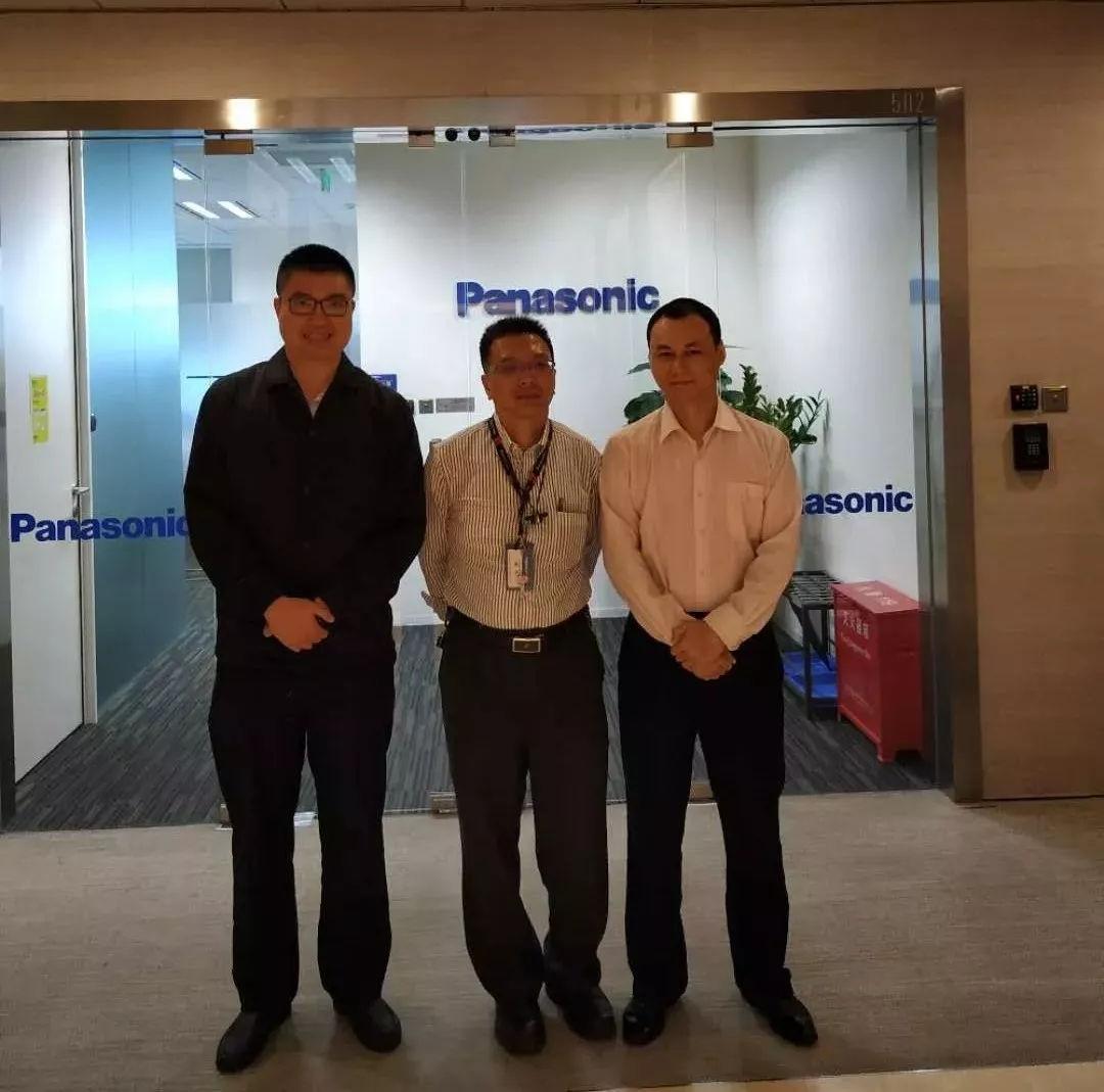 广东国际电子展组委会拜访松下、众拓自动化、 深圳市手机行业协会