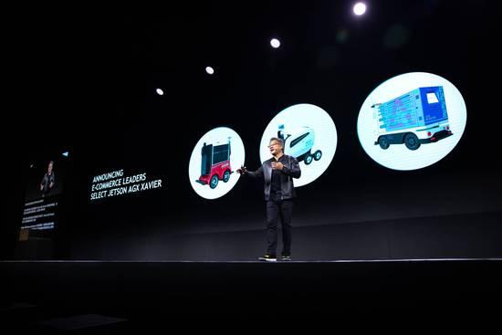 英伟达展示最新Jetson平台 布局中国配送机器人市场