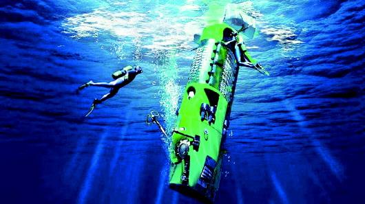 这些水下机器人带我们探秘万米深渊