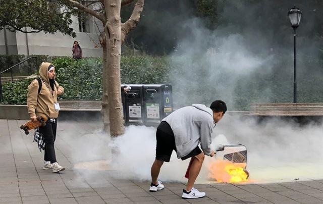加州某大学校园机器人自燃 厂家表示为人为失误