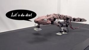 """机器人技术帮助2.9亿年前的化石再次""""行走"""""""
