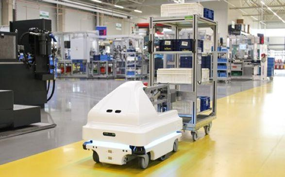 医院AGV物流机器人的应用