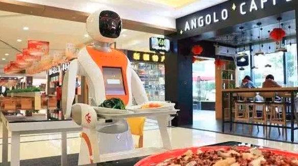 机器人做盒饭:一盒28元,味道还不错