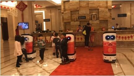 服务机器人落地正当时,餐饮服务变革序幕已拉开