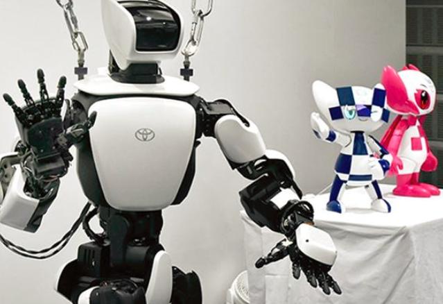 丰田的虚拟现实机器人带球迷进入东京奥运会