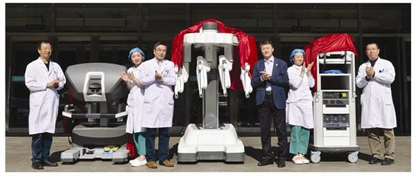 """大医一院来了位""""机器人大夫"""""""