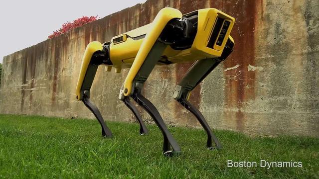 机器人武器化来临?美国警方带波士顿动力机器狗出警