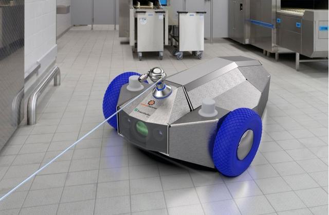 科学家研发生产线清洁机器人 可随时间推移学习如何更好地清洁