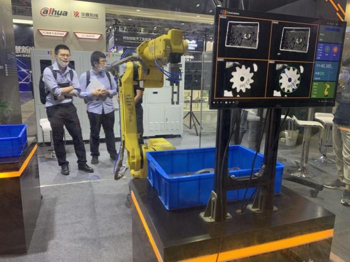 AI赋能工业智造,聚时科技工业机器视觉产品亮相工博会